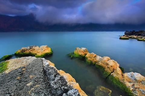 Magical. Songan A village, Lake Batur, Kintamani, Bali