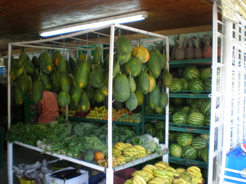 Fruit at the market, Tobago