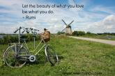 Let the beauty of love be what you do