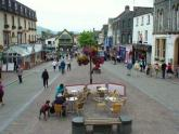 The Main mall in Keswick
