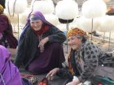 Women at a Market, Turkmenistan