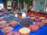 Olives, Athens, Greece