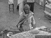 Peanut seller, India